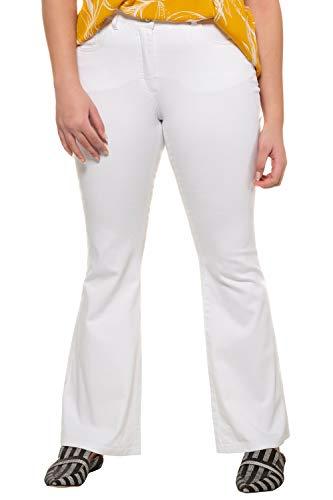 Damen Schlaghose Weiß - 3