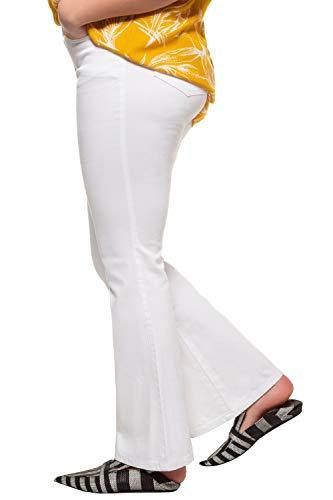 Damen Schlaghose Weiß - 4